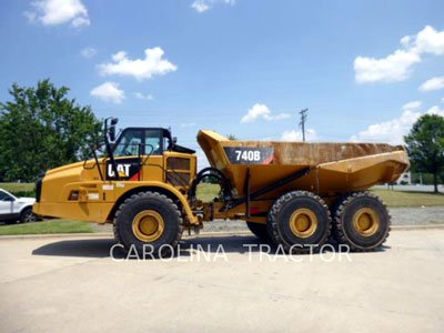 2012 CATERPILLAR 740B in Charlotte,