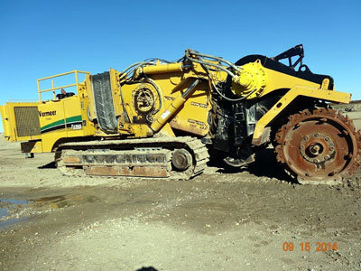 2007 VERMEER T1255TL in California,