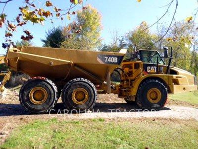 2012 CATERPILLAR 740B in Charlotte,