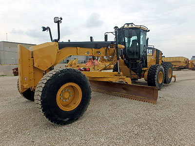 2012 CATERPILLAR 14M VHP PLUS