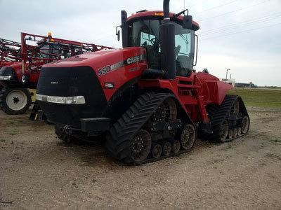 2013 CASE 550Q in Shoal