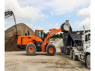 2014 Doosan Construction DL550-5 in
