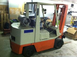 Nissan 8000 lb. Propane Forklift