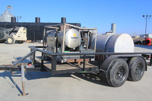 Whitco 5030 DPO Trailer-Mounted Hot