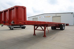 PACE American T/A 43' Flatbed