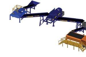 Tuffman-Eriez 30TPH Metal Separation System