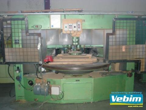 1965 KNOEVENAGEL rotary shaper in
