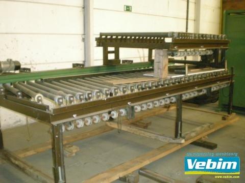 VENJAKOB Roller conveyor in Kortrijk,