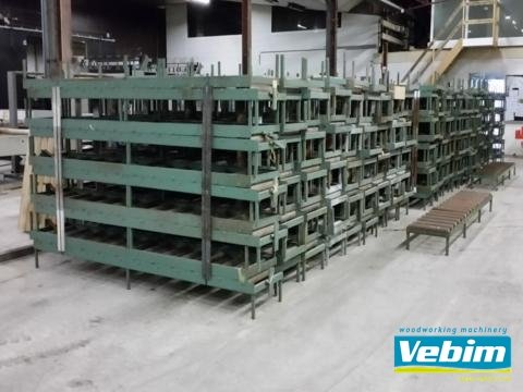 ROL gravity roller conveyors in