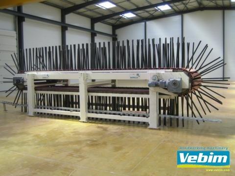 BÜRKLE Cooling conveyor for pressed