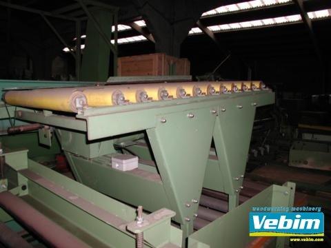 1989 TREPEL roller conveyor in