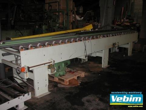 BARGSTEDT Roller conveyor in Kortrijk,