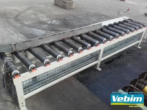 WEMHÖNER Roller conveyor in Kortrijk,