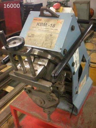 2009 GULLCO KBM-18-100-D BEVEL SHEET