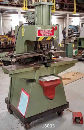 CLAUSING GB70 HYD FABRICATOR PUNCHES