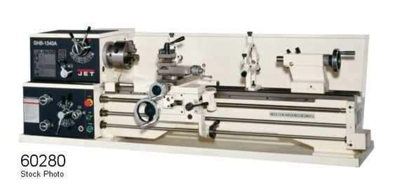 JET 321357A GHB-1340A LATHES in