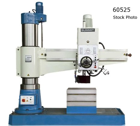 SUMMIT 6'H RADIAL DRILL in