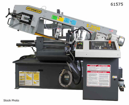 HYD-MECH S-20A BANDSAW in Dodge