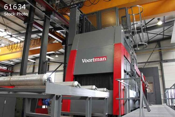 VOORTMAN VSB2500-6/15 SHOT BLASTER FINISHERS
