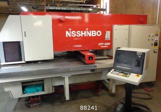 1997 NISSHINBO HTP-1000 CNC TURRET