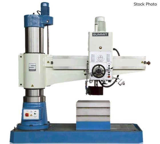 SUMMIT 5'H RADIAL DRILL in