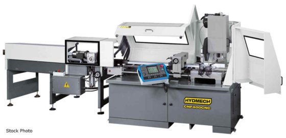 HYD-MECH CNF400-CNC COLD SAW in