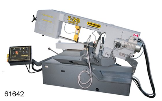 HYD-MECH S-20 BANDSAW in Dodge