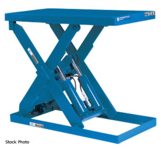 ADVANCE LIFTS P-4036 LIFT TABLE