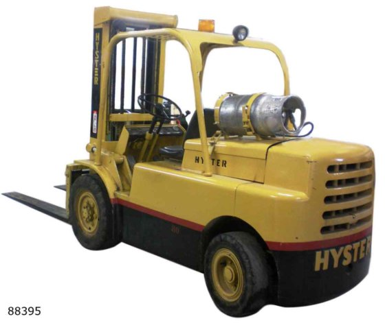 HYSTER H80C FORKLIFT in Dodge