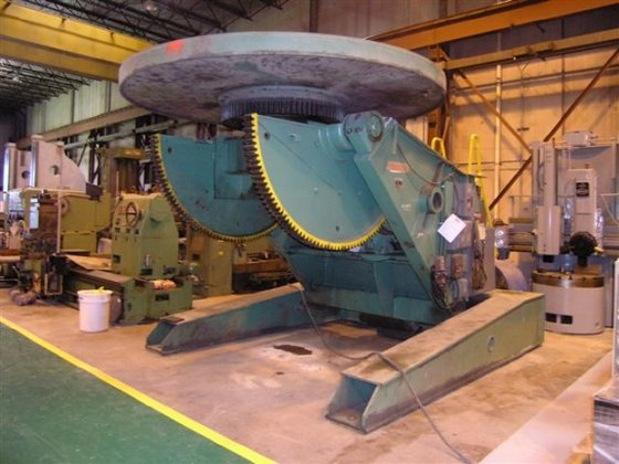 80,000 Lbs Ransome Welding Positioner