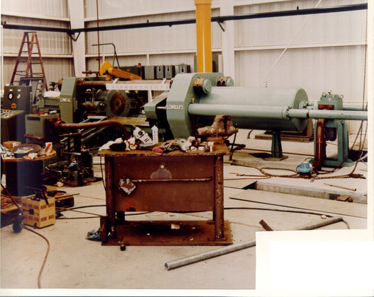 1981 Lombard Hydraulic Extrusion Press