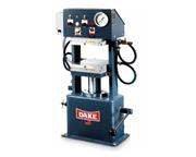 """LAB PRESS,DAKE,75 Ton,Max temp 600F,6""""Stroke,19""""x19""""platens,("""