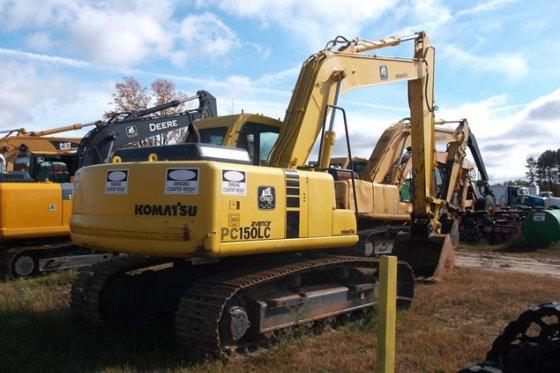 komatsu pc150 6k pc150lc 6k excavator maintenance manual