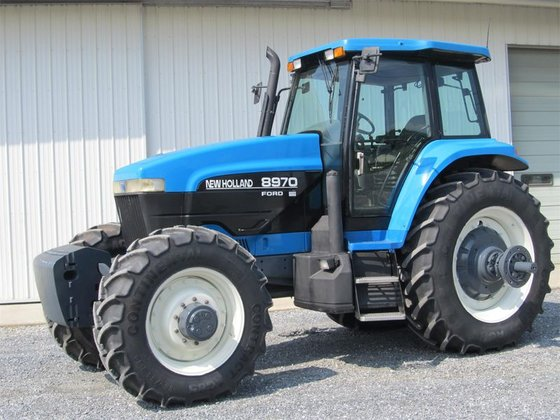 1998 New Holland 8970 in