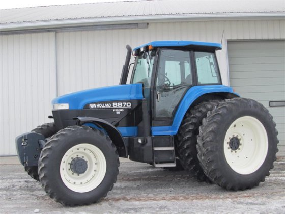 1997 New Holland 8870 in