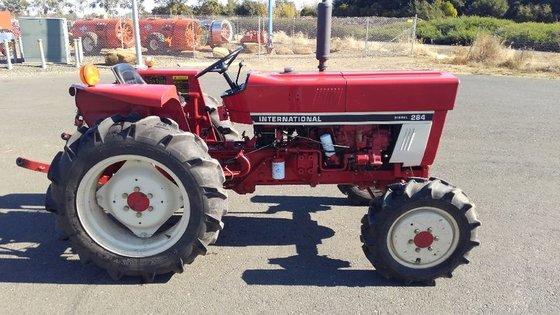 International Harvester 284 Tractor : International in fairfield ca usa