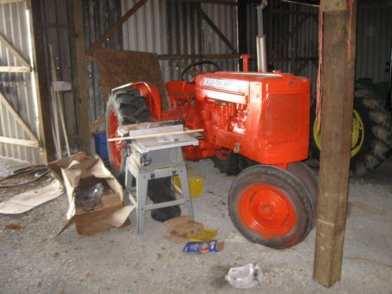 1954 Allis-Chalmers D14 in Ridgway,