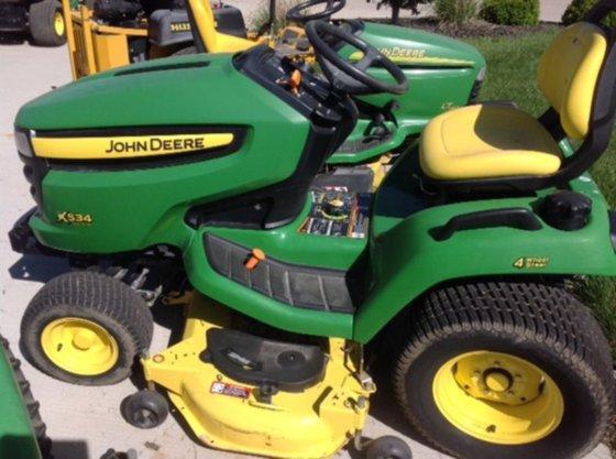 2009 John Deere X534 in