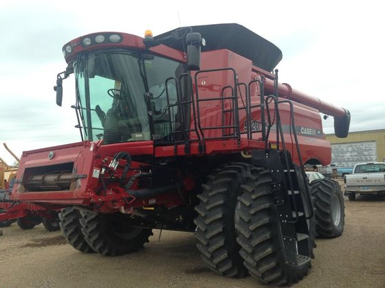 Case IH 9120 in Maddock,