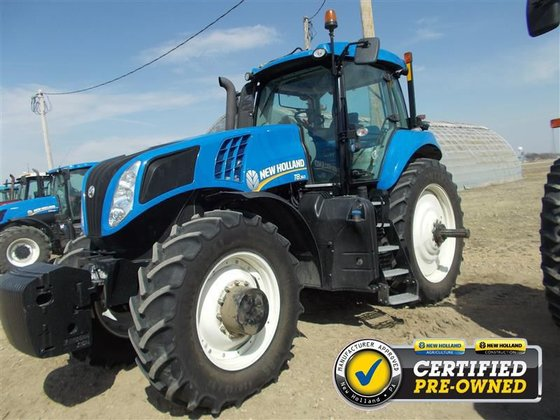 2012 New Holland T8.360 in