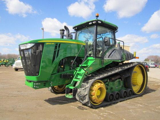 2012 John Deere 9560RT in