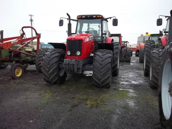 2010 Massey-Ferguson 7490 in Lewiston,