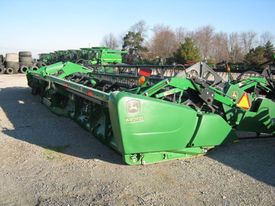 2011 John Deere 640FD in