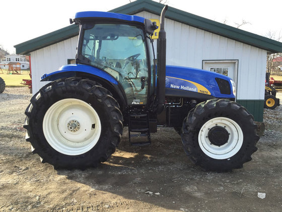 2012 New Holland T6070 PLUS