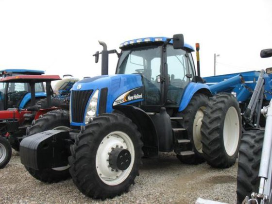 New Holland TG255 in Harlan,