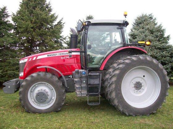 2012 Massey-Ferguson 8670 in Rohlfs
