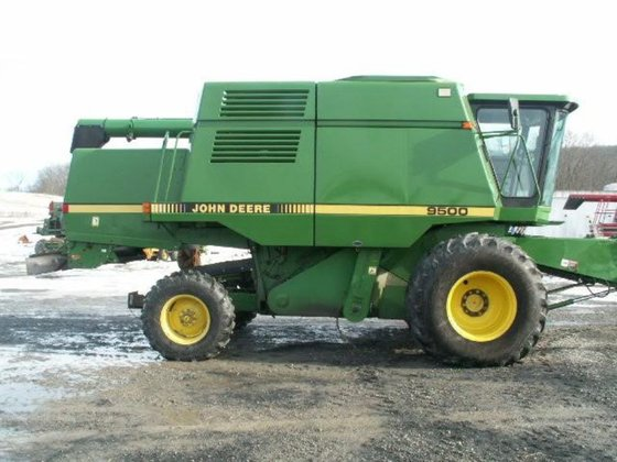 1991 John Deere 9500 in