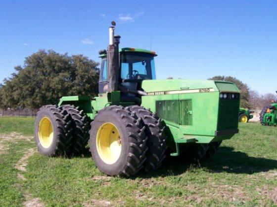 1991 John Deere 8760 in