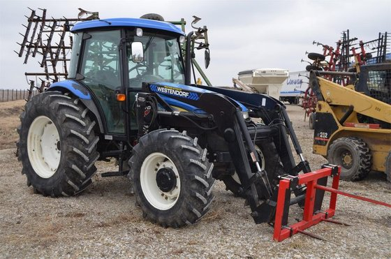 2007 New Holland TD95D in