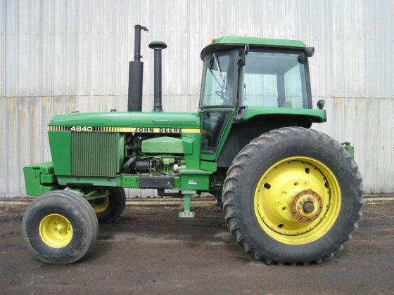 1981 John Deere 4640 in